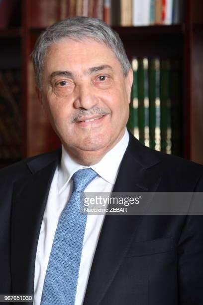Portrait d'Ali Benflis le 30 novembre 2013 à Alger, Algerie.
