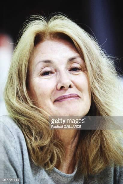 Portrait d'Annie Ernaux le 18 mars 2000 à Paris France