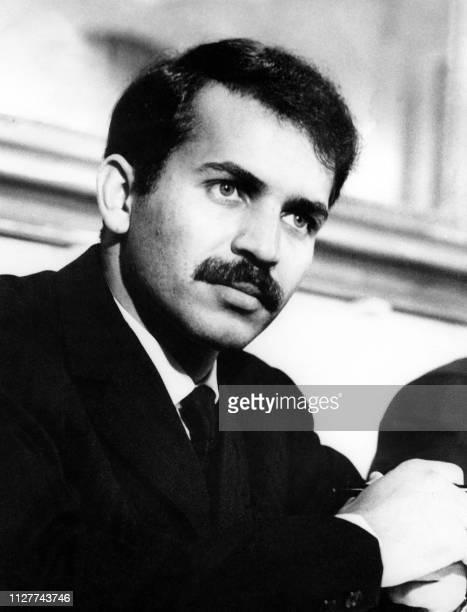 Portrait d'archive daté de juin 1977 du ministre des Affaires Etrangères Algérien Abdelaziz Bouteflika