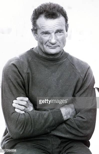 Portrait daté de 1987 à Kinsale en Irlande du navigateur français Eric Tabarly lors de la course du Figaro Les recherches pour retrouver Eric Tabarly...