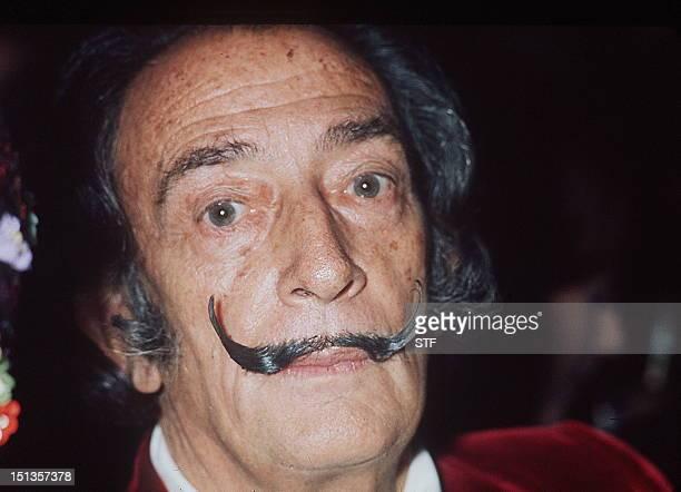 Portrait daté de décembre 1971 du peintre espagnol Salvador Dali l'un des peintres les plus populaires du 20ème siècle Né en 1904 à Figueras en...