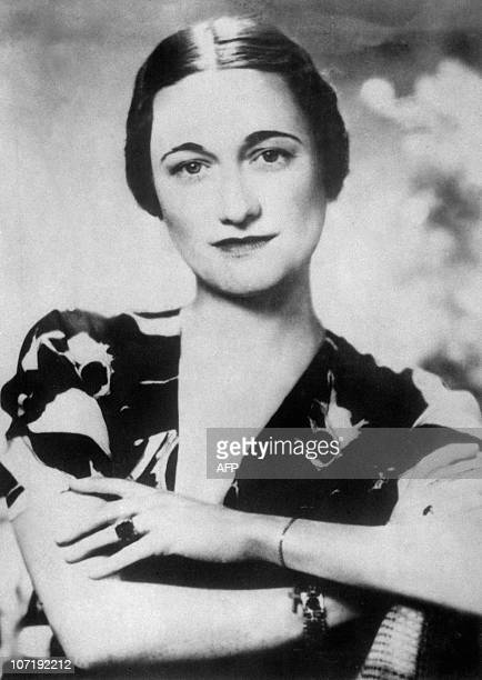 Portrait dated 1930's of Americanborn Wallis Simpson who became Duchess of Windsor 03 June 1937 by marrying Edward of England Duke of Windsor...
