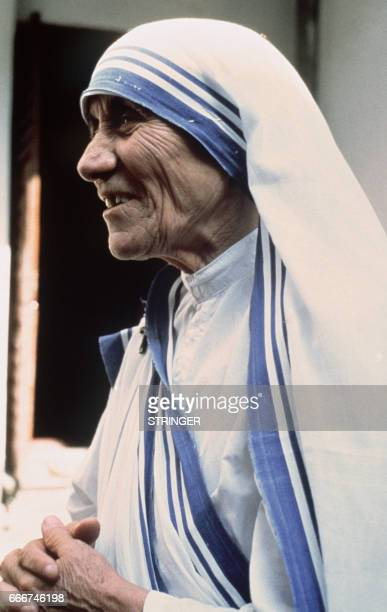 Portrait dated 1979 of Peace Nobel Prize Mother Teresa. Mother Teresa has won the 1979 Nobel Peace Prize for her work among the poorest people in...