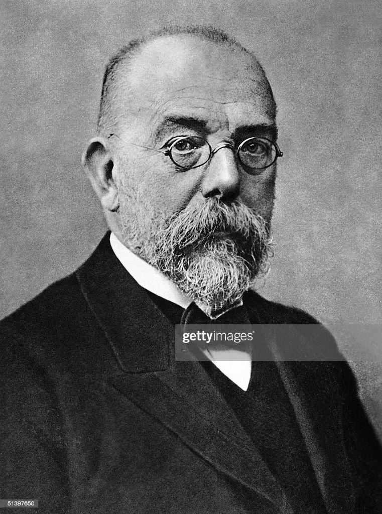 Portrait dated probably 1903 in Berlin of Robert K : News Photo