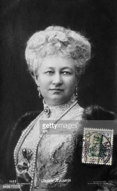 Portrait d'Augusta-Victoria, impératrice d'Allemagne et reine de Prusse, Allemagne.
