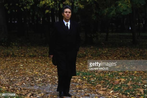 Portrait de Ahmed Ben Bella premier président de l'Algérie indépendante le 30 octobre 1986 à Genève Suisse