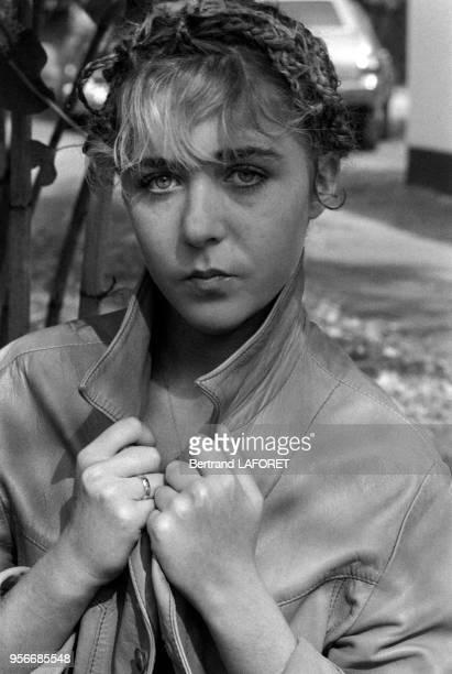 Portrait de Anne Bennent lors du tournage du film 'Lulu' à Berlin le 1er octobre 1979 Allemagne