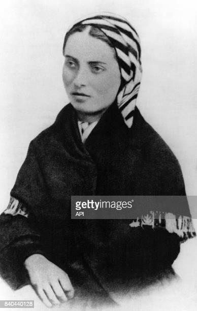 Portrait de Bernadette Soubirous