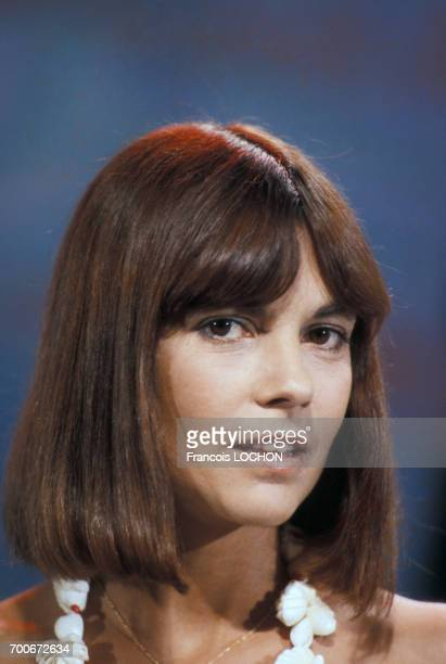 Portrait de Chantal Goya en septembre 1976 France