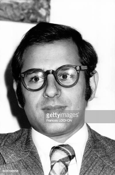 Portrait de Christian Borniche secrétaire Général de la FNAR en 1977 à Paris France
