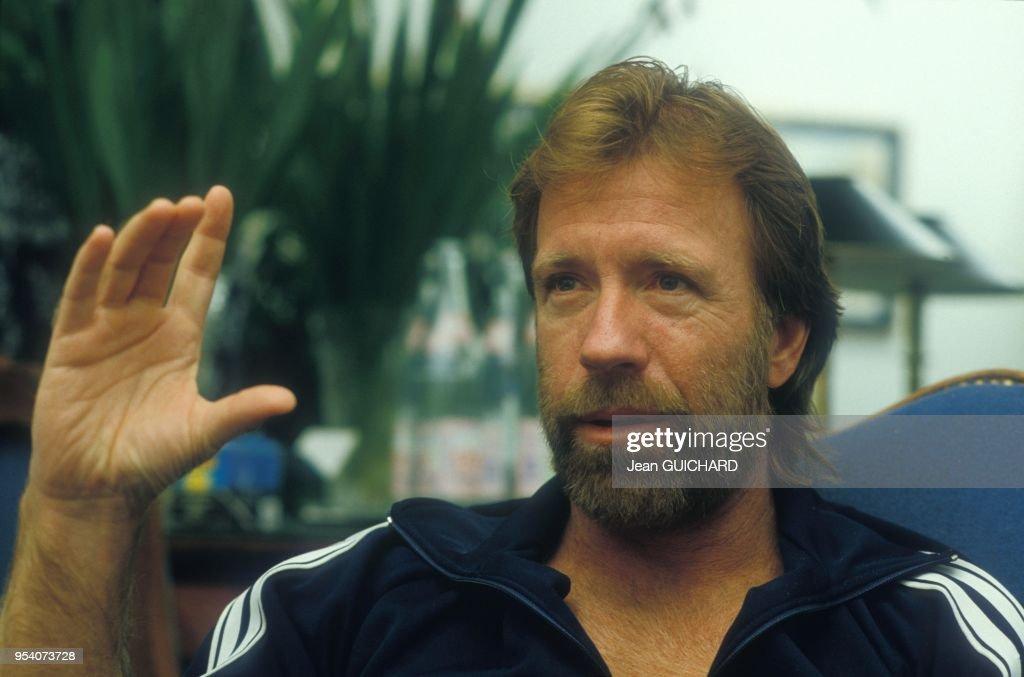 Chuck Norris : News Photo