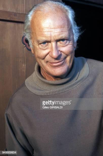 Portrait de Curd Jurgens acteur circa 1970