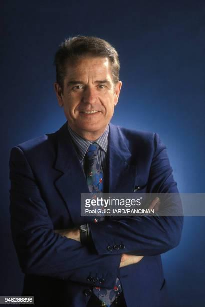 Portrait de Daniel Filipacchi le 6 mai 1988 France