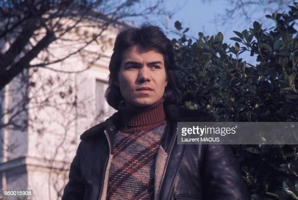 Portrait de Daniel Guichard circa 1970 en France