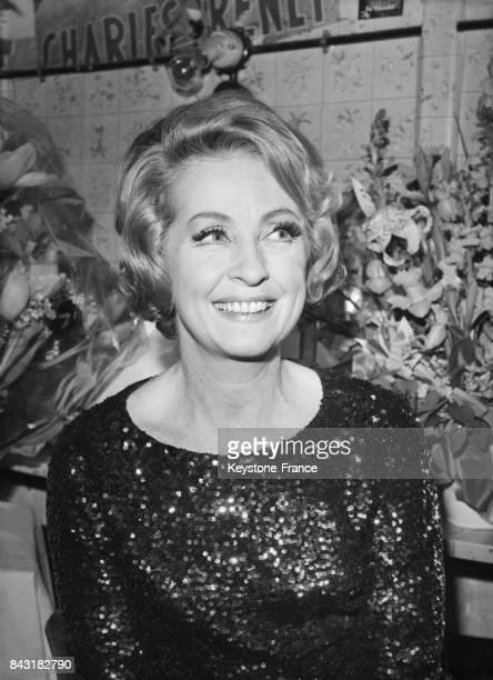 Portrait de Danielle Darrieux en France en 1968