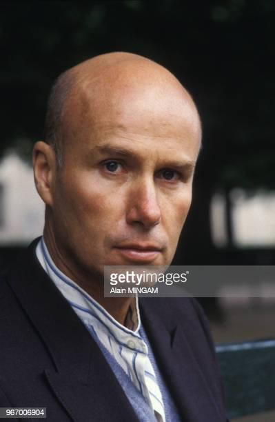 Portrait de Gabriel Matzneff, écrivain, le 13 mai 1983 à Paris, France.
