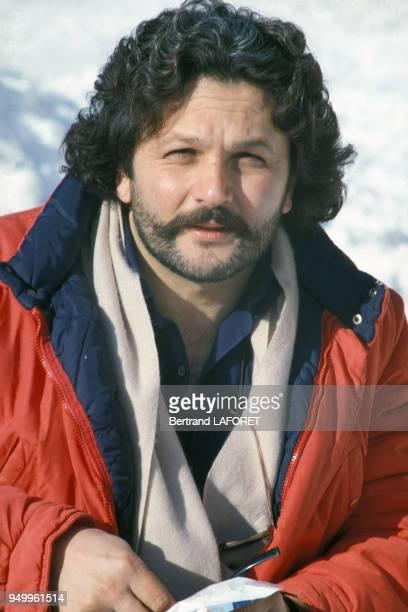 Portrait de George Miller réalisateur en janvier 1983 au Festival d'Avoriaz France
