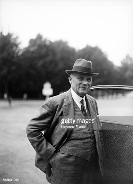 Portrait de Gustave Cassagnau procureur général lors du procès de Riom en 1942 à Riom France
