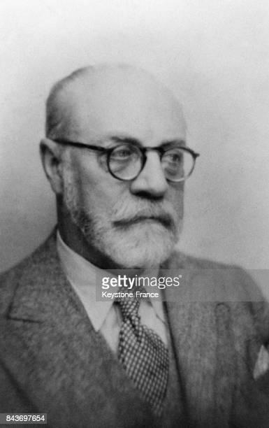 Portrait de Henri Matisse, en France.