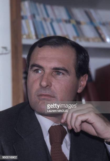 Portrait de Jacques Ribourel promoteur immobilier le 7 décembre 1978 à Vichy France