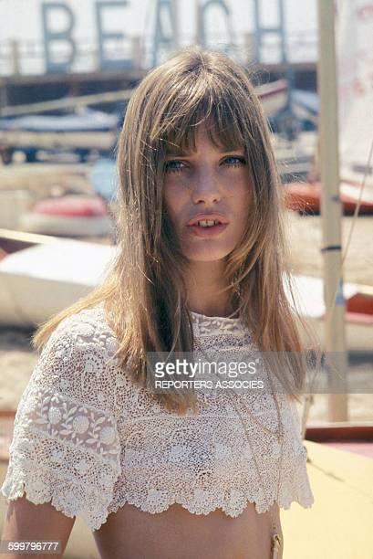 Portrait de Jane Birkin circa 1960 en France