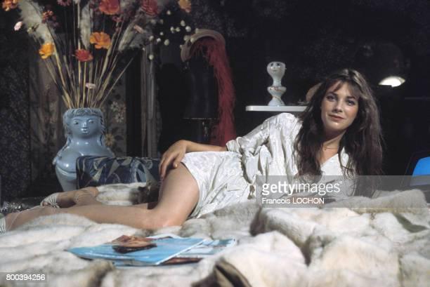 Portrait de Jane Birkin circa 1970 en France
