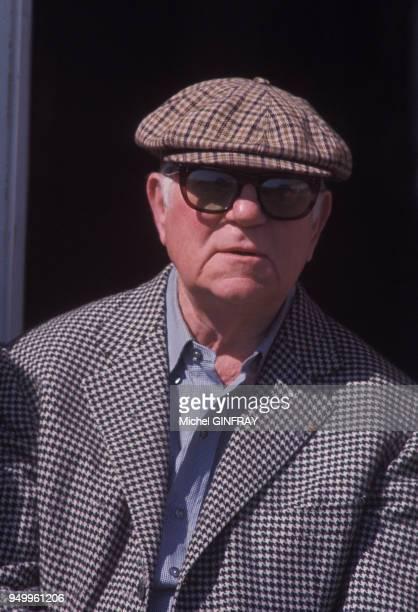 Portrait de Jean Gabin en 1971 en France.