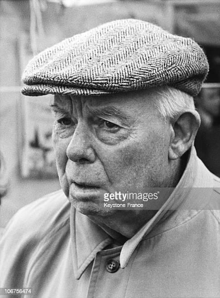 Portrait De Jean Renoir 1970'S