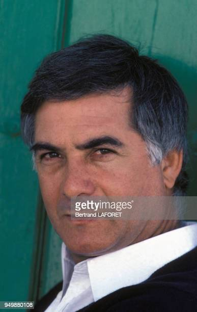 Portrait de JeanClaude Brialy en novembre 1982 à Séville Espagne