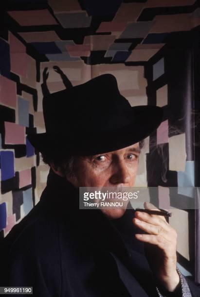 Portrait de JeanPierre Mocky réalisateur le 11 avril 1984 à Paris France