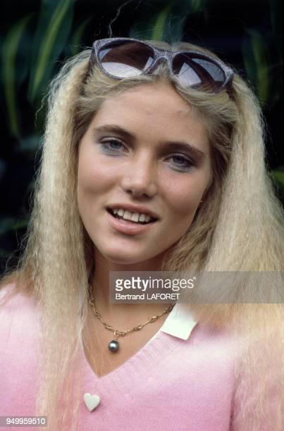 Portrait de Jenna de Rosnay circa 1980