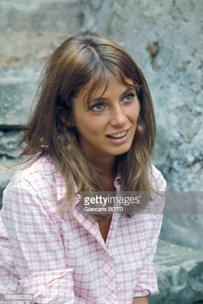 Portrait de Joanna Shimkus actrice circa 1960 in France