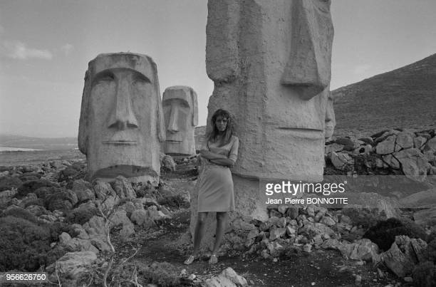 Portrait de Joanna Shimkus en septembre 1967 Italie