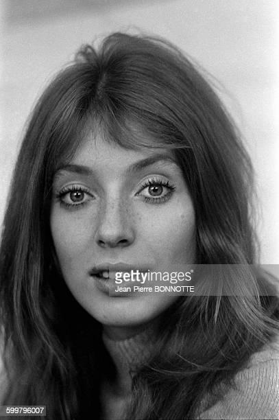 Portrait de Johanna Shimkus lors du tournage du film 'L'Invitée' de Vittorio de Seta en février 1969 en France