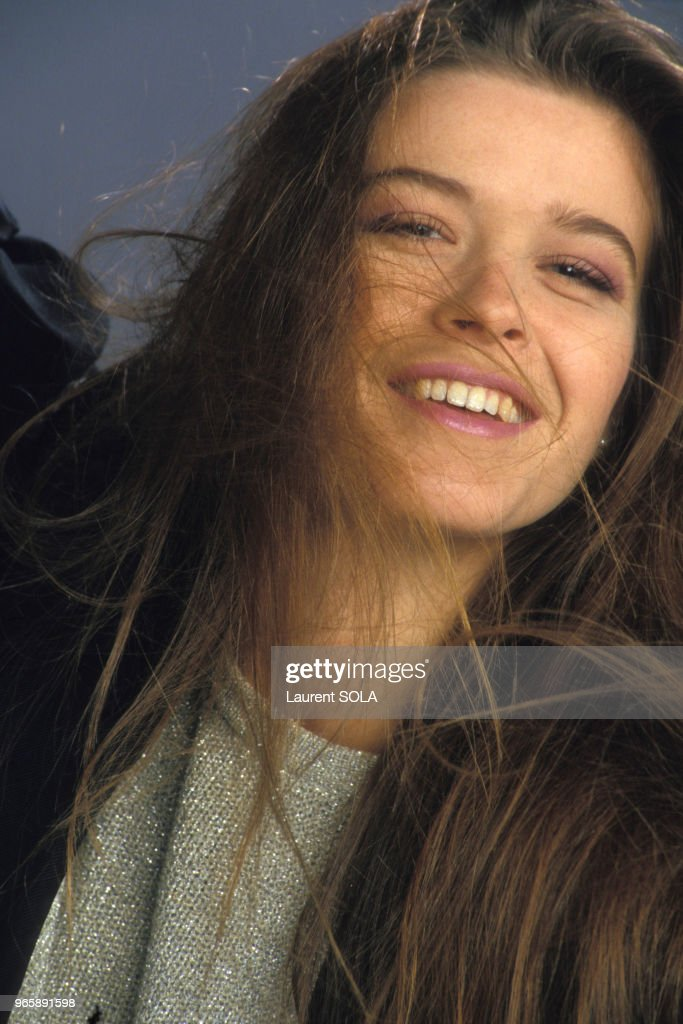 Portrait de Corynne Charby en 1986 : Foto jornalística