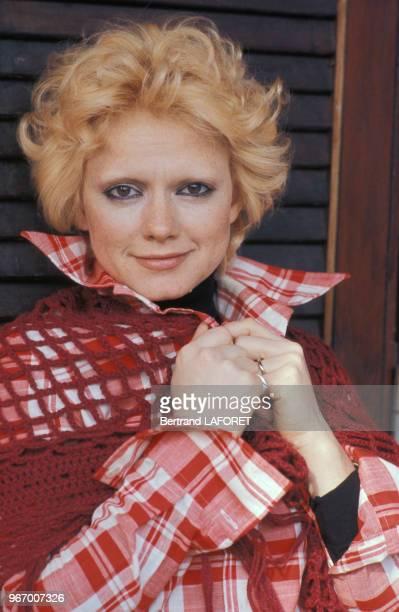 Portrait de la chanteuse italienne Rita Pavone le 13 mars 1975 à Lugano Suisse