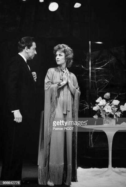 Portrait de la comédienne Nicole Courcel le 7 décembre 1974