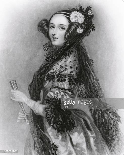 Portrait de la mathématicienne britannique Ada Lovelace, la première programmeuse informatique.