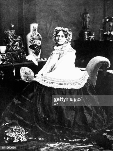 Portrait de la princesse Carolyne de SaynWittgenstein muse du compositeur Franz Liszt
