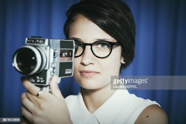 Portrait de la realisatrice canadienne Chloe Robichaud le 22 mai 2013 pendant le 66eme Festival du Film Annuel de Cannes au Palais des des Festivals...