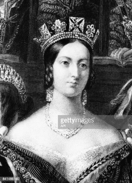 Portrait de la reine Victoria du RoyaumeUni
