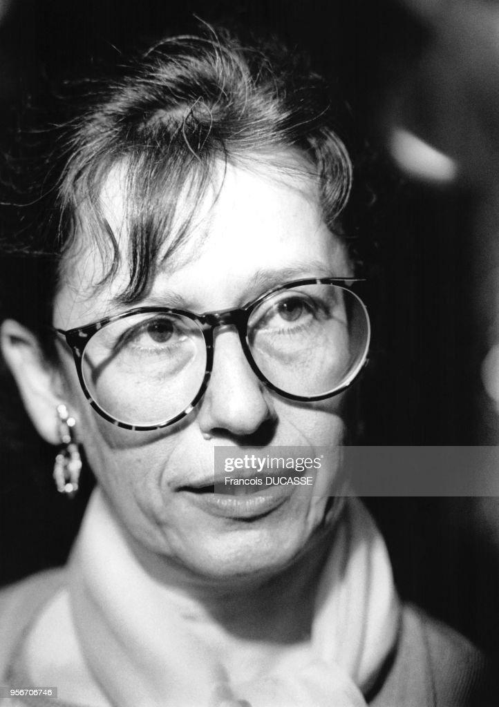 Portrait de Véronique Neiertz : Photo d'actualité