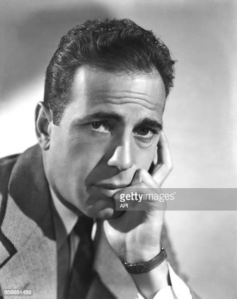 Portrait de l'acteur américain Humphrey Bogart EtatsUnis