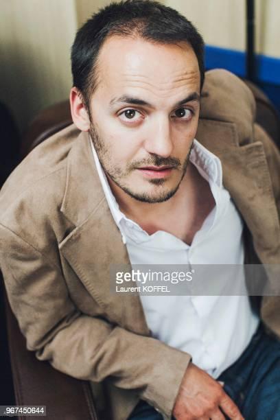 Portrait de l'acteur Belge Fabrizio Rongione le 20 mai 2008 au Palais des des Festivals à Cannes France Film 'Le Silence de Lorna'