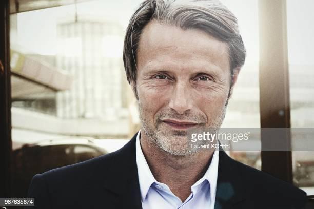 Portrait de l'acteur danois Mads Mikkelsen pendant le 66eme Festival du Film Annuel de Cannes au Palais des des Festivals le 24 mai 2013 Cannes...