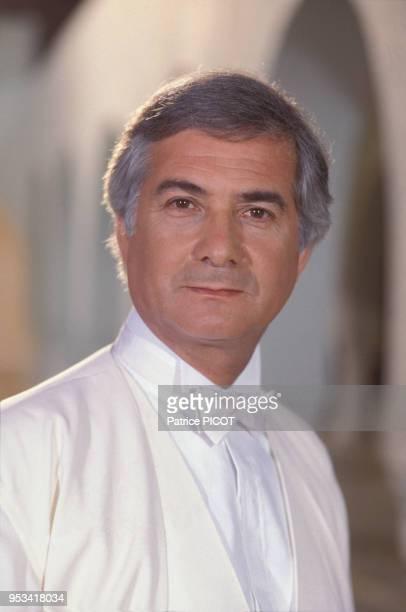 Portrait de l'acteur français JeanClaude Brialy en 1990 france