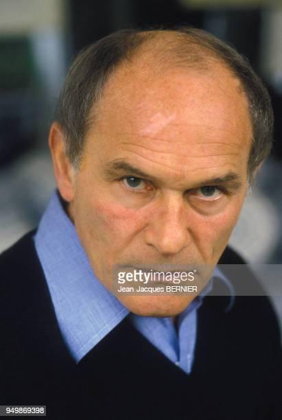 Portrait de l'acteur Marcel Bozzuffi le 2 février 1984 à Paris France