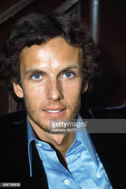 Portrait de l'acteur Mathieu Carrière circa 1970 en France