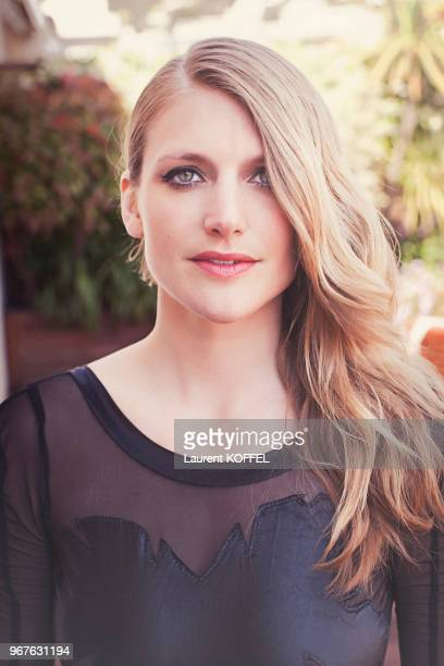 Portrait de l'actrice belge Charlotte Vandermeersch pendant le 68eme Festival du Film Annuel de Cannes au Palais des Festivals le 22 mai 2015 Cannes...
