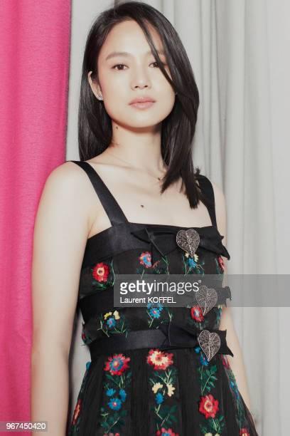 Portrait de l'actrice chinoise Zhou Yun lors du 68eme Festival du Film Annuel de Cannes au Palais des Festivals le 21 mai 2015 Cannes France
